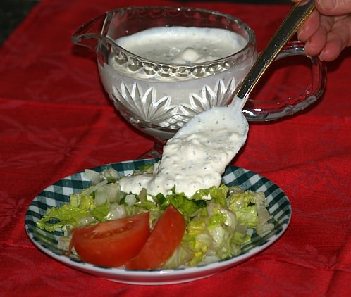 Feta Cheese Salad Dressing Recipe