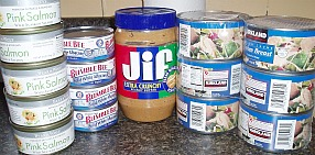 canned meats