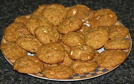 Pumpkin Cookie Recipe for Travel Food