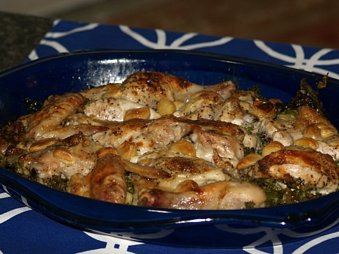 Forty Cloves of Garlic Chicken