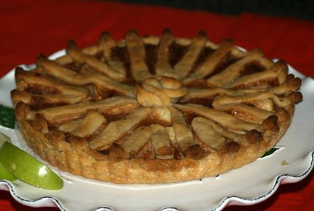 French Apple Custard Tart Recipe