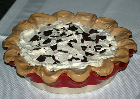 Whole French Chocolate Pie