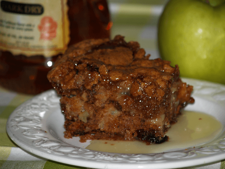 Fresh Apple Rum Cake Recipe