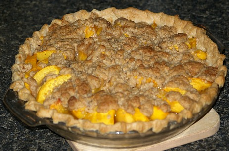 Peach Crumb Pie Recipe