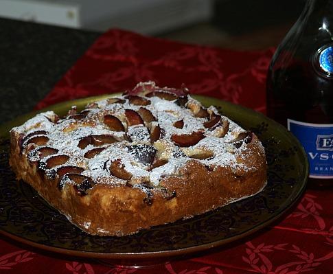 how to make a plum cake recipe