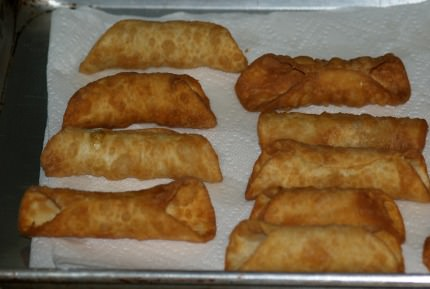 Fried Cannoli Shells