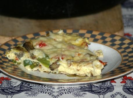 eggplant frittata recipe