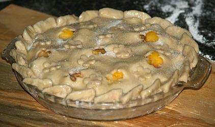 Unbaked Georgia Peach Pie Recipe