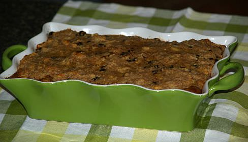 How to Make Bread Pudding in Germany