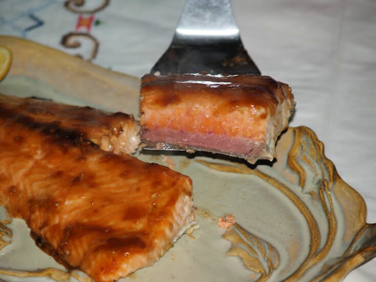 Gingered Teriyaki Salmon