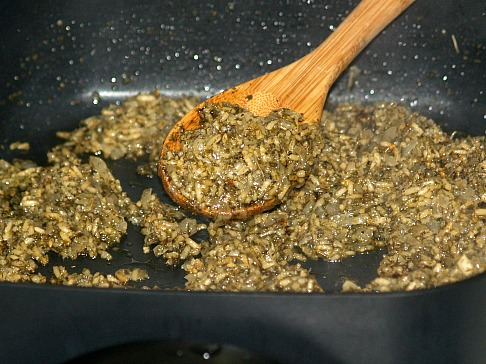 Grape Leaf Stuffing Mixture