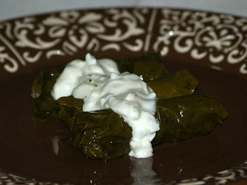 How to Make Stuffed Grape Leaves