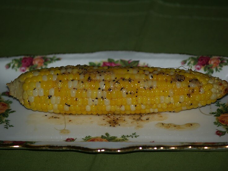 Lemony Corn on Cob