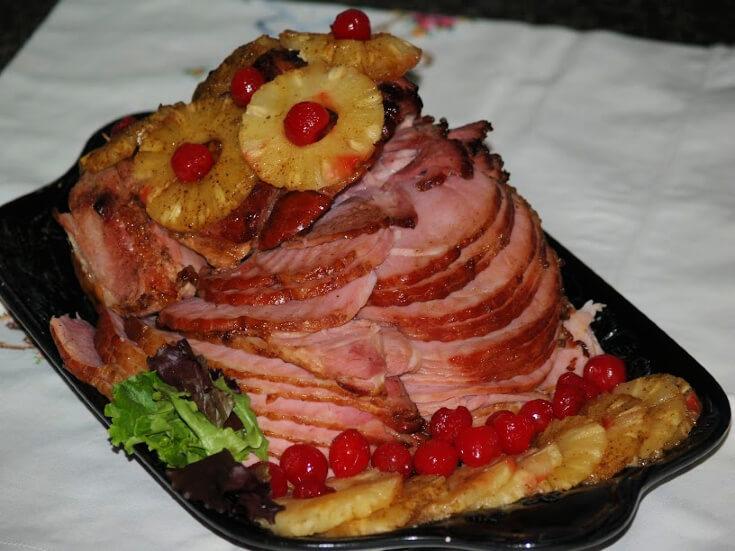 Pineapple Spiced Ham