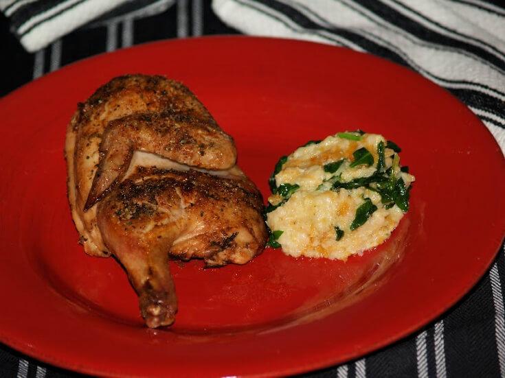 Herb Baked Cornish Game Hen Recipe