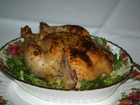 Herbed Cornish Hen Recipe
