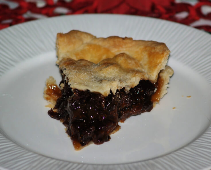 Cranberry Fig Pie Recipe