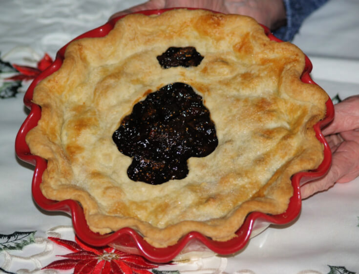 Cranberry Fig Pie