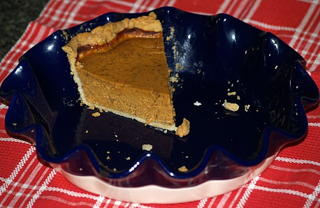 Pumpkin Custard Pie Recipe