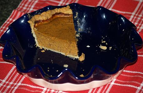 Pumpkin Custard Pie Recipe