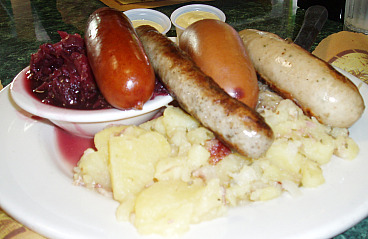 Bratwurst, Weisswurst, Mettwurst and the Knockwurst