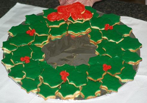 Old Fashioned Sugar Cookie Wreath