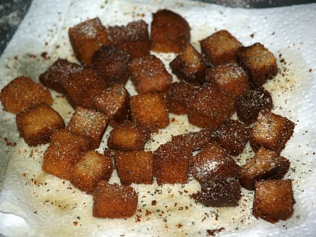 My Favorite Fried Croutons