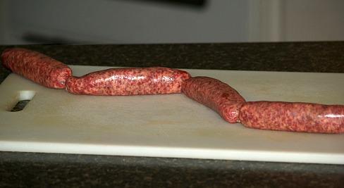 Homemade Sausage Links