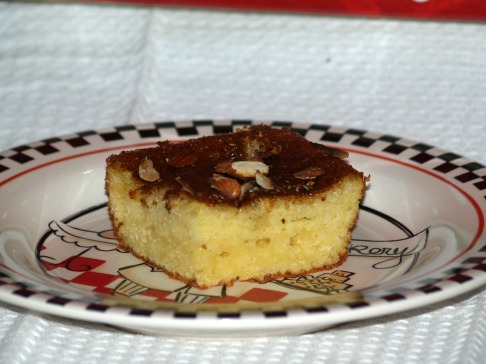 honey yogurt cake recipe