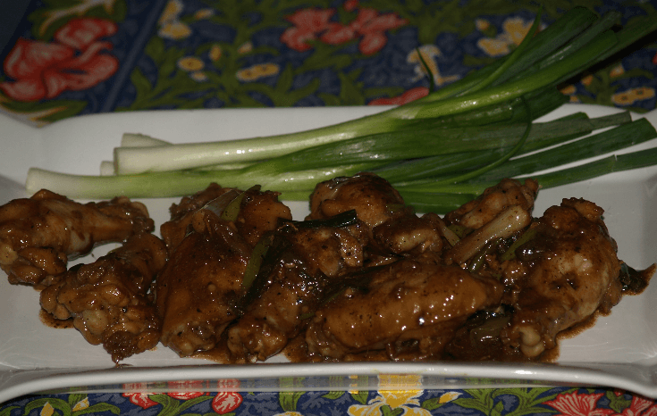 Chicken Wing Entree
