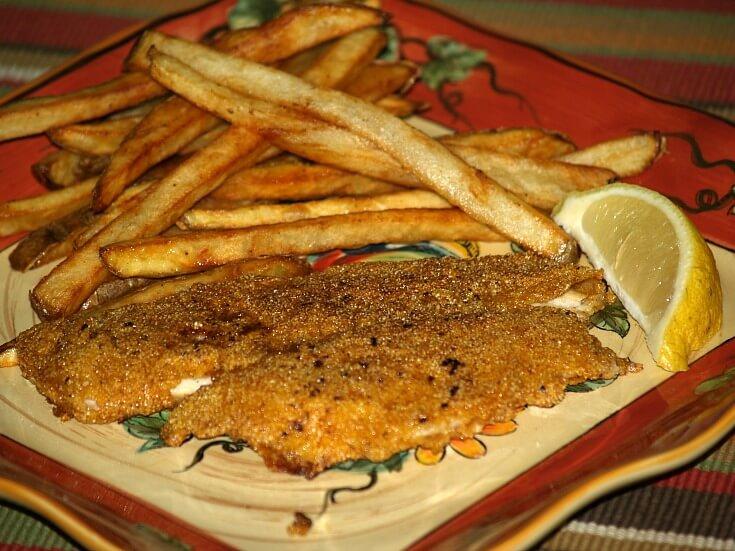Spicy Fried Perch Recipe