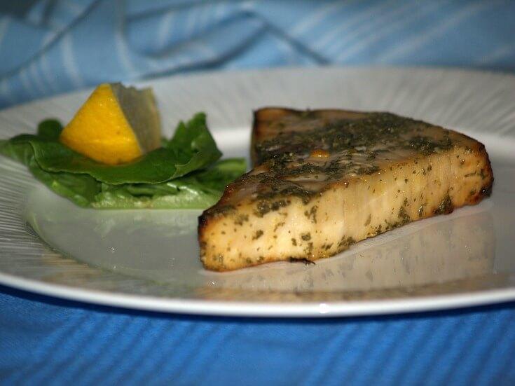 Dijon Swordfish Steaks