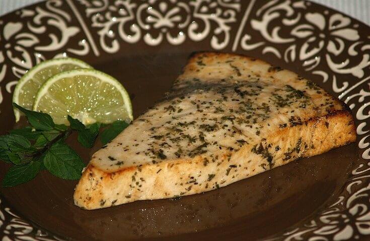 Marinated Swordfish Recipe