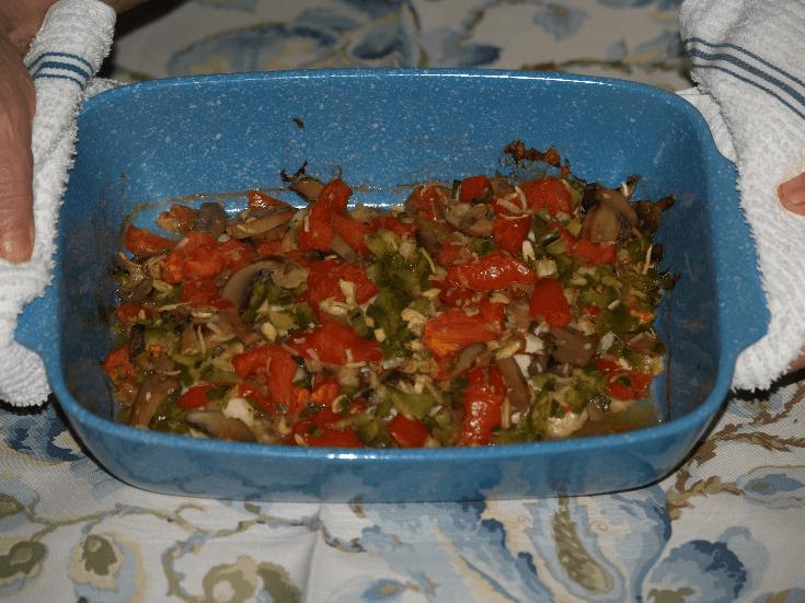 Creole Tilapia in Baking Dish