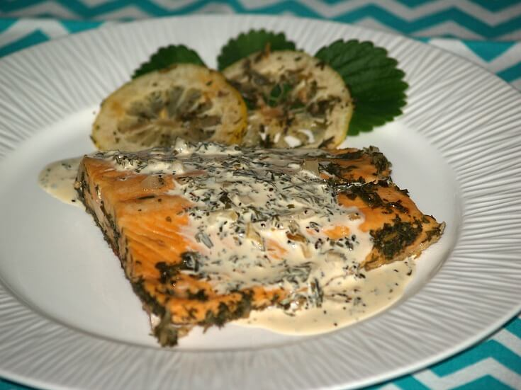 Poached Trout Recipe with Tarragon