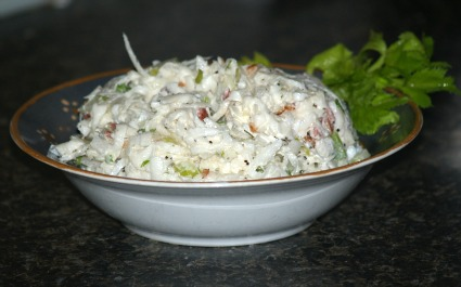 Turnip Cole Slaw Recipe