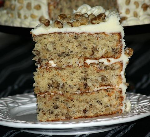How to Make Black Walnut Cake Recipe