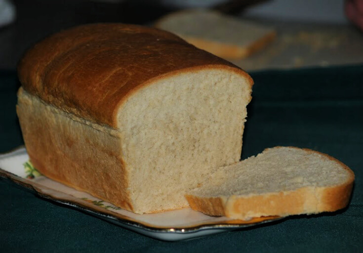 Crusty Country Bread Recipe Sliced