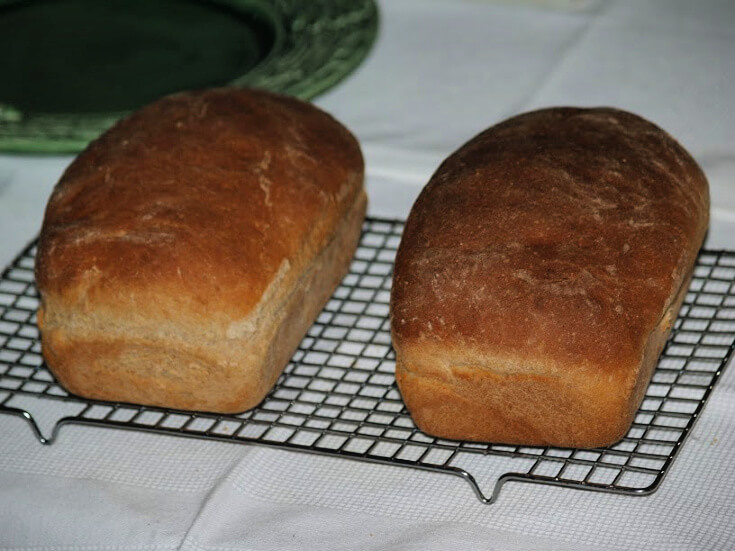 Crusty Honey Wheat Bread