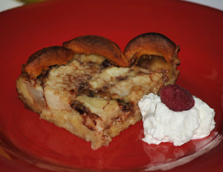 Finnish Pear Pan Cake