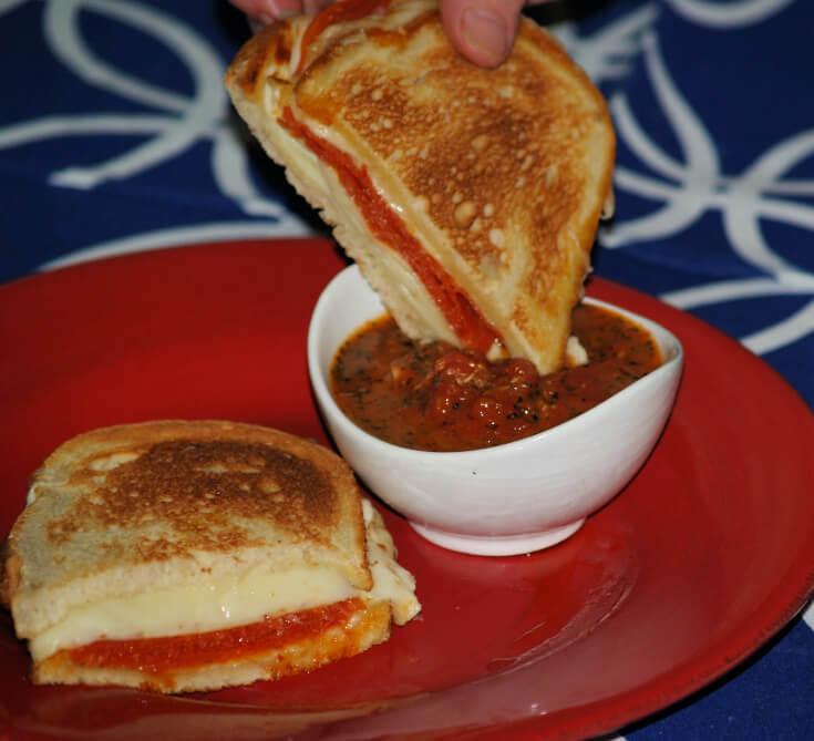 Grilled Italian Cheese Sandwich