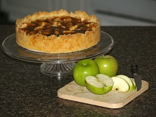 Apple Cinnamon Cheesecake Recipe
