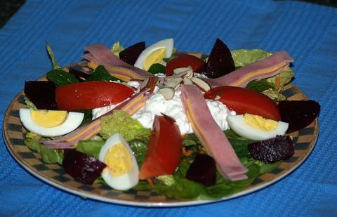 How to Make Chef's Salad
