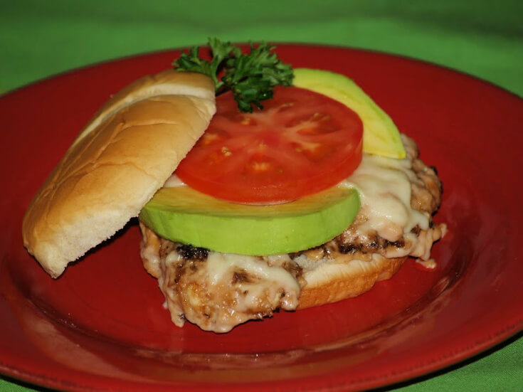 Swiss Chicken Sandwich