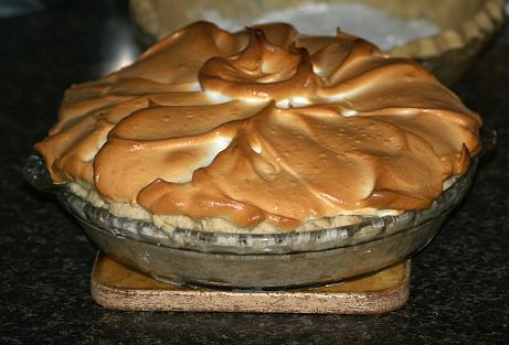 Whole Chocolate Meringue Pie Recipe