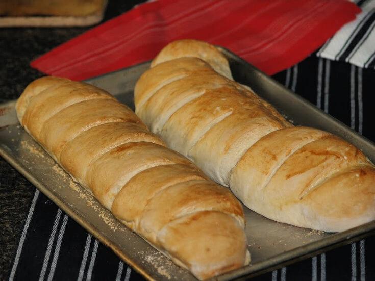 Crusty French Bread Recipe
