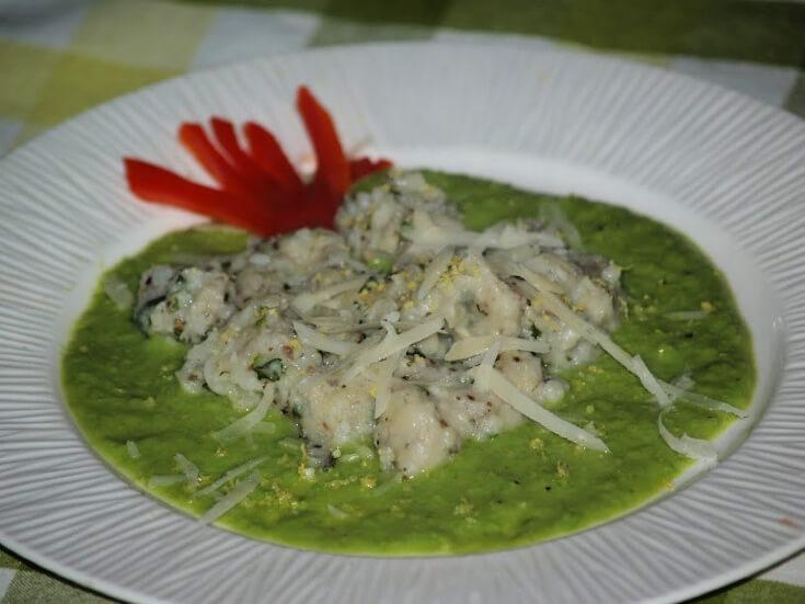 Herb Potato Gnocchi