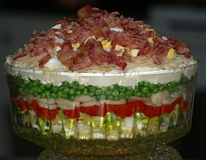 How to Make Layered Salad