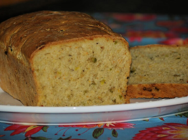 Parmesan Jalapeno Olive Bread