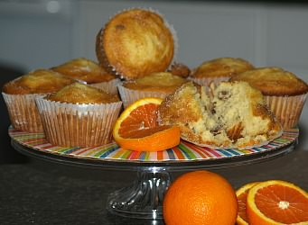 How to Make Orange Muffins